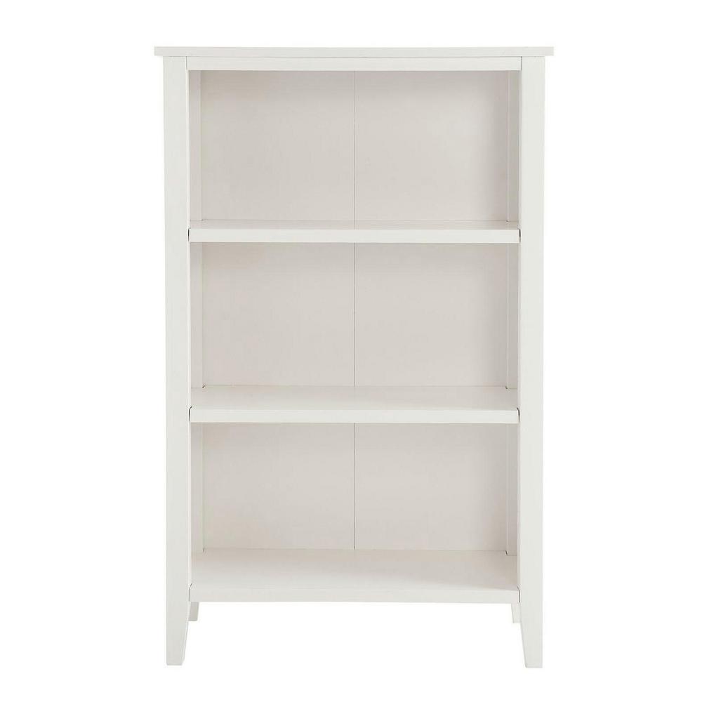 USL Trent White Small Bookcase