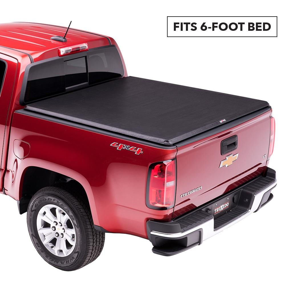 Truxedo Truxport Tonneau Cover 94 04 Chevy S10 Gmc Sonoma Stepside 6 Ft Bed 247601 The Home Depot