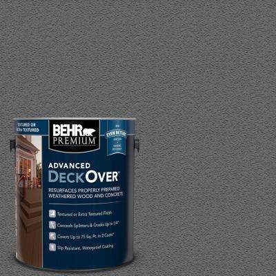 1 gal. #SC-131 Pewter Textured Solid Color Exterior Wood and Concrete Coating