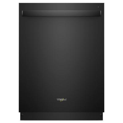 Top Control Built-In Tall Tub Dishwasher in Black with Stainless Steel Tub and Third Level Rack, 47 dBA