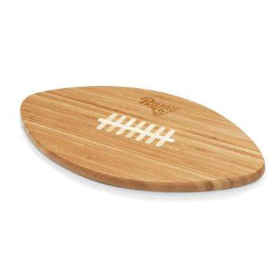 Los Angeles Rams Touchdown Pro Bamboo Cutting Board