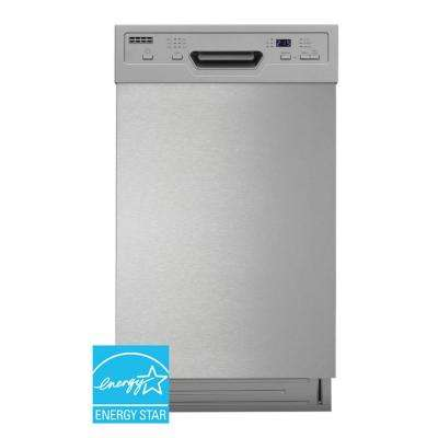 ENERGY STAR 18 in. Built-In Dishwasher w/ Heated Drying in White