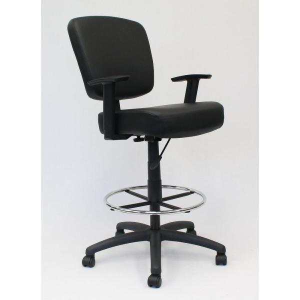 Boss 46.5 in. H Oversize Drafting Stool B1681-BK