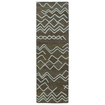 Casablanca Ash 3 ft. x 10 ft. Runner Rug