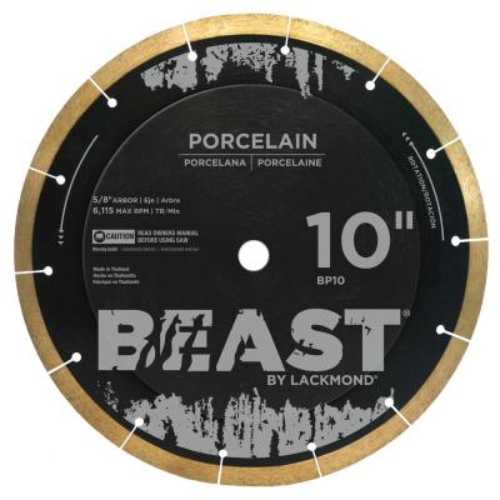 10 in. Pro Series Wet Porcelain Blade