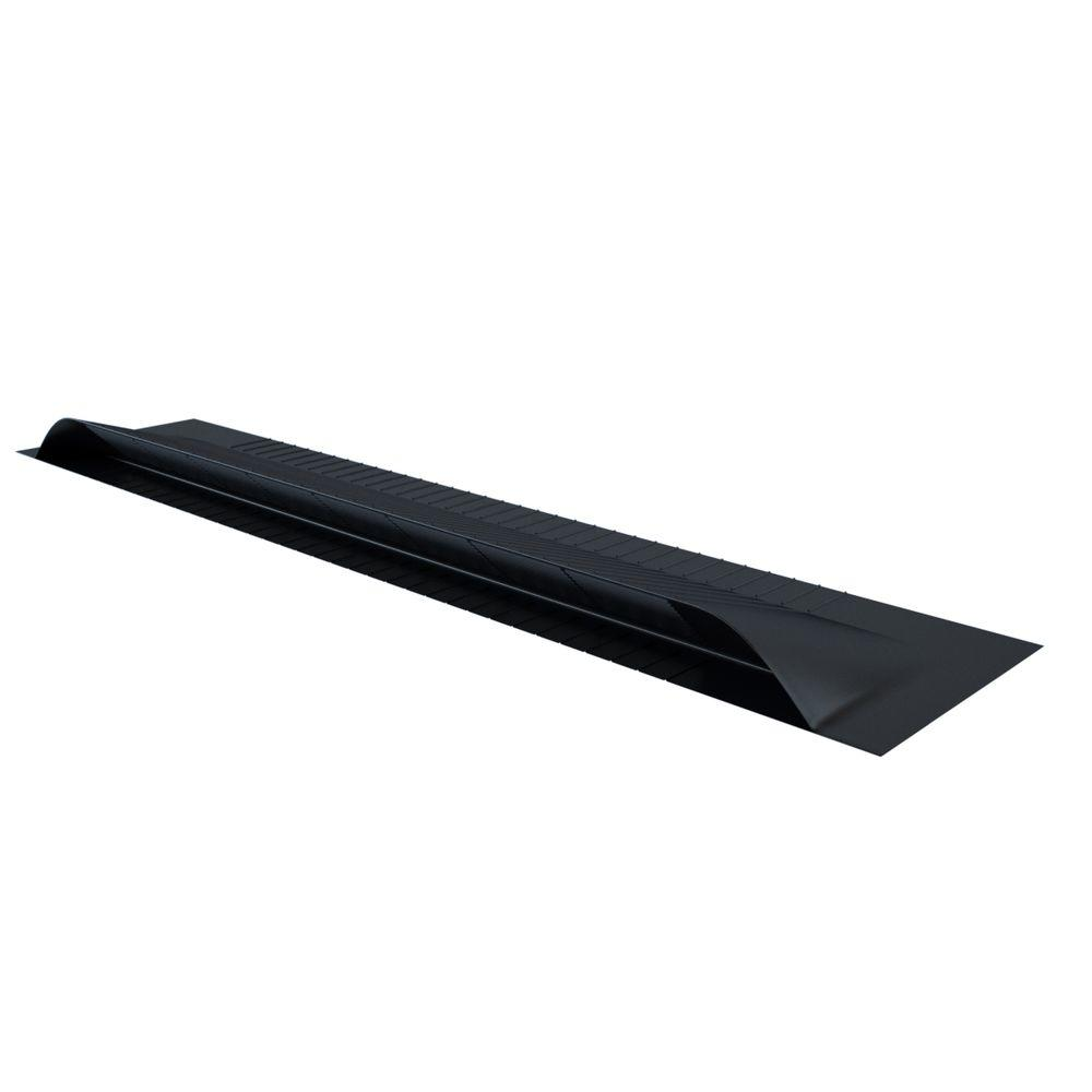 Aluminum Off Ridge Roof Vent. Amerimax Home Products 41 in  x 22 in  Accuvent Vinyl Attic Airway