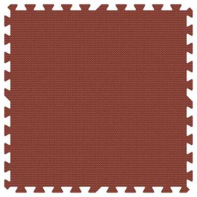 Burgundy 24 in. x 24 in. Comfortable Mat (100 sq.ft. / Case)
