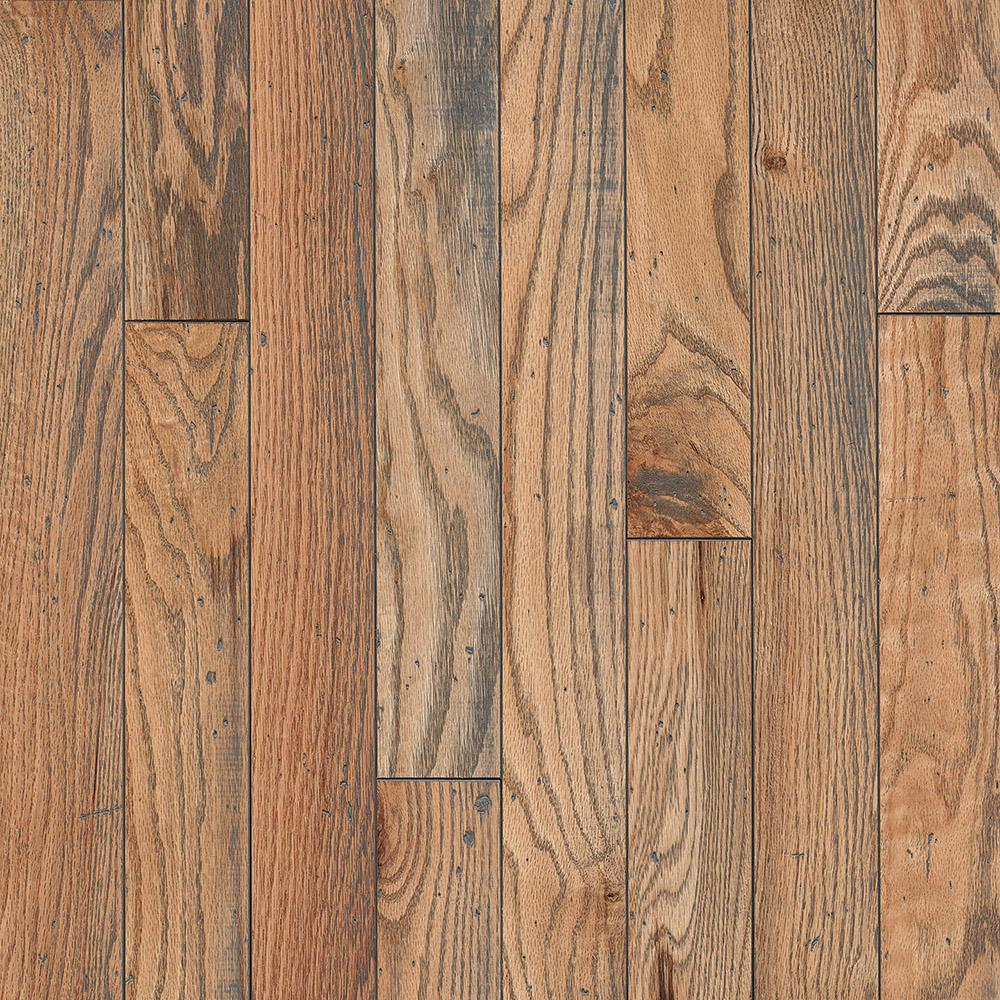 Bruce Revolutionary Rustics Oak Classic Natural 3/4 in. T x 3-1/4 in. W x Varying L Solid Hardwood Flooring (22 sq.ft./case)