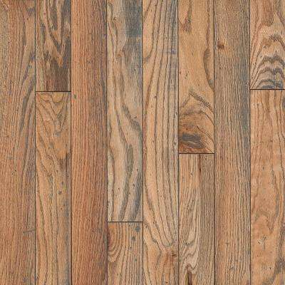 Revolutionary Rustics Oak Classic Natural 3/4 in. T x 3-1/4 in. W x Varying L Solid Hardwood Flooring (22 sq.ft./case)