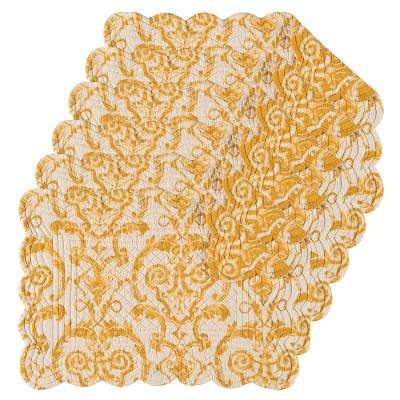 Florence Yellow Placemat (Set of 6)