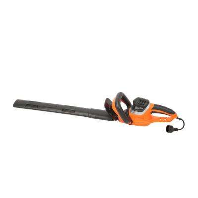 4.6 Amp Corded Hedge Trimmer with 2 in. Laser Cutting Blade with Blade Cover