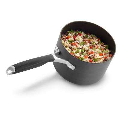 Select 2.5 Qt. Hard Anodized Nonstick Saucepan with Cover