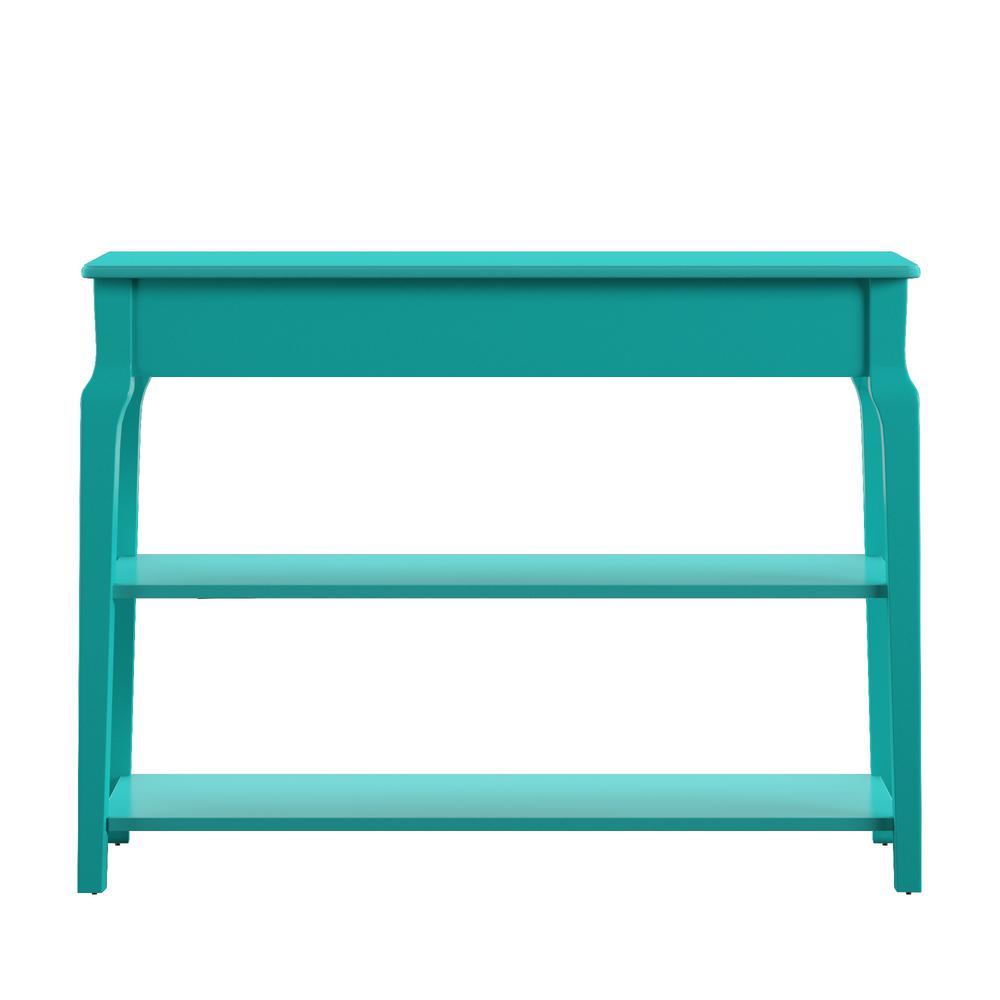 HomeSullivan Marine Green Sofa Table Tv Stand 40E713MG-T - The Home
