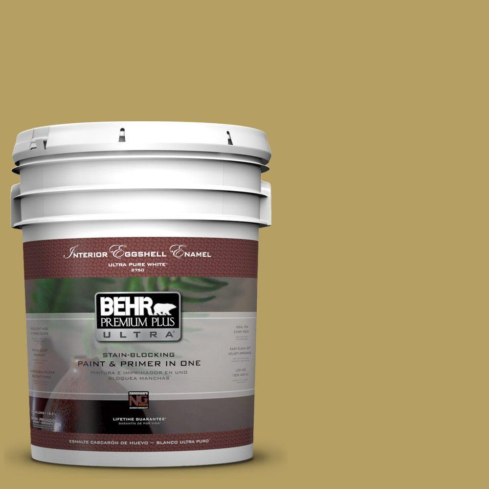 BEHR Premium Plus Ultra Home Decorators Collection 5-gal. #HDC-CL-19 Apple Wine Eggshell Enamel Interior Paint