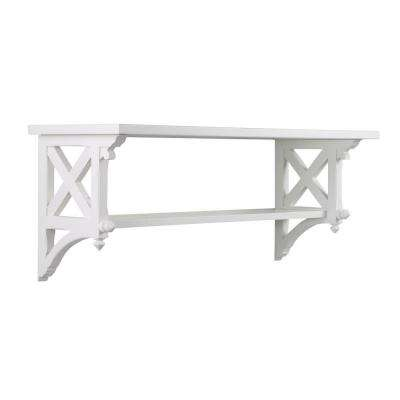 14.25 in. W Msl Large Picket Fence Country Bracket