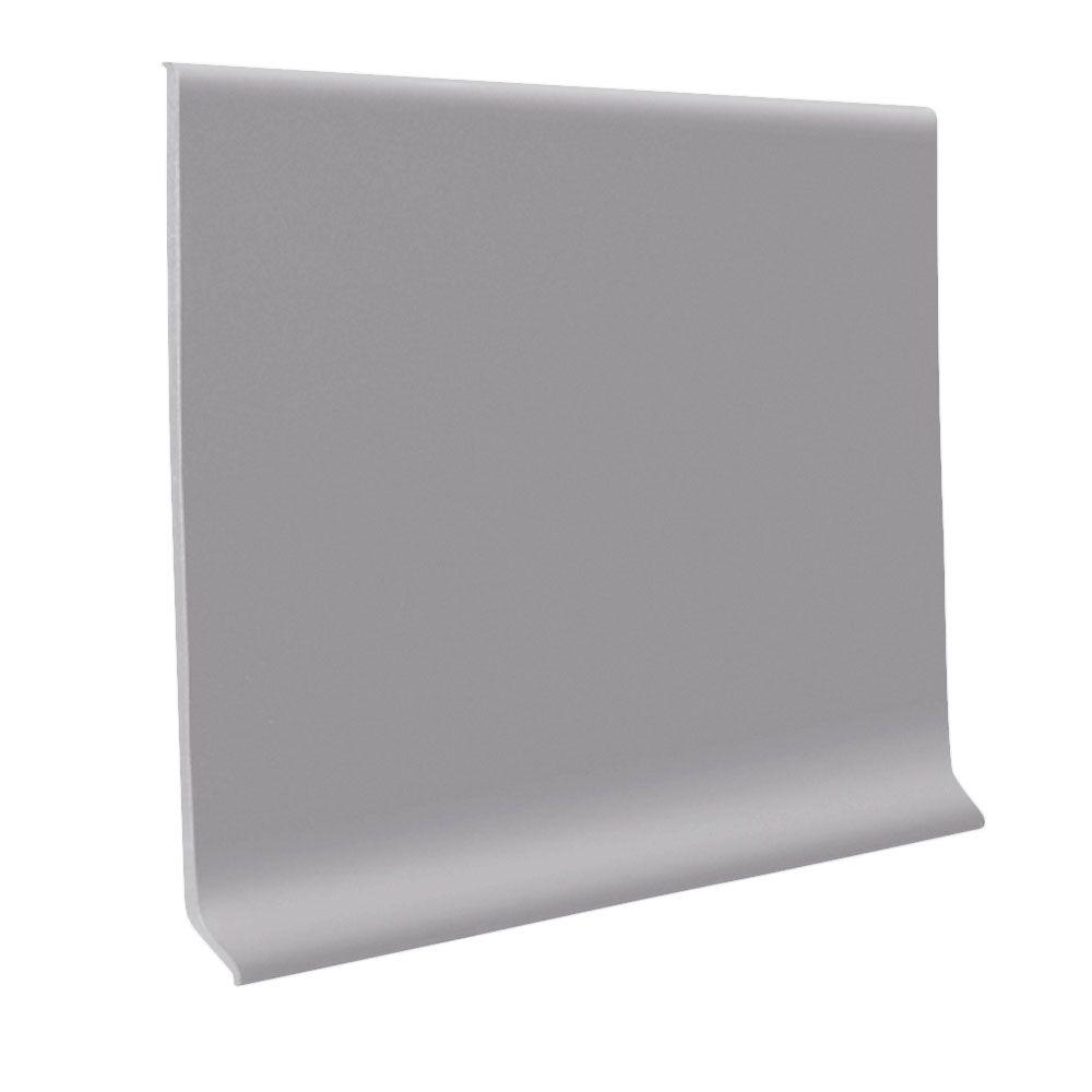 ROPPE Vinyl Ready Base Slate 4 in. x .080 in. x 48 in. Wall Cove Base (30-Pieces)