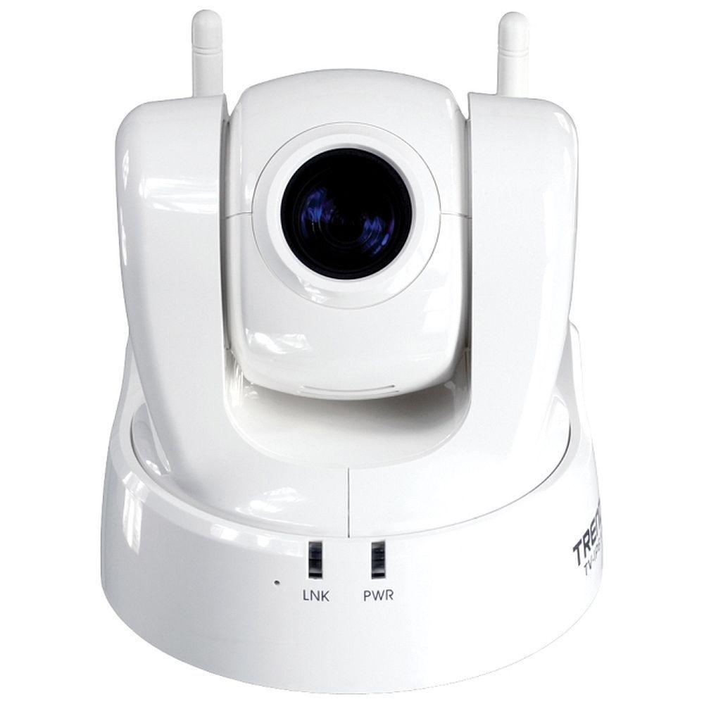 TRENDnet ProView Wireless 460 TVL CMOS IP PTZ Dome Shaped Surveillance Camera-DISCONTINUED