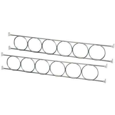 4.25 in. x 29.63 in. x 0.25 in. Wine Rack