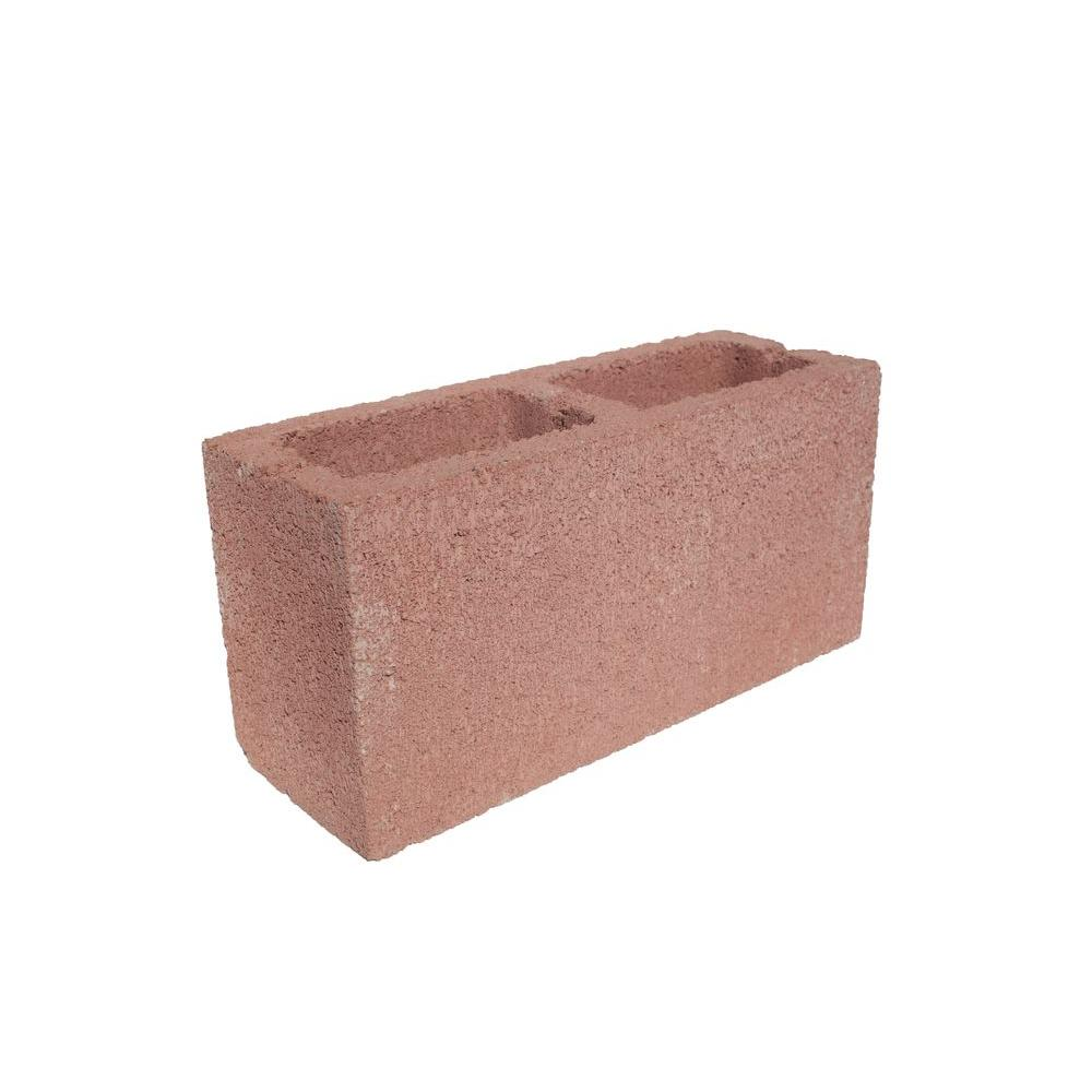 High Quality Angelus Block 6 In. X 8 In. X 16 In. Pink Concrete Block
