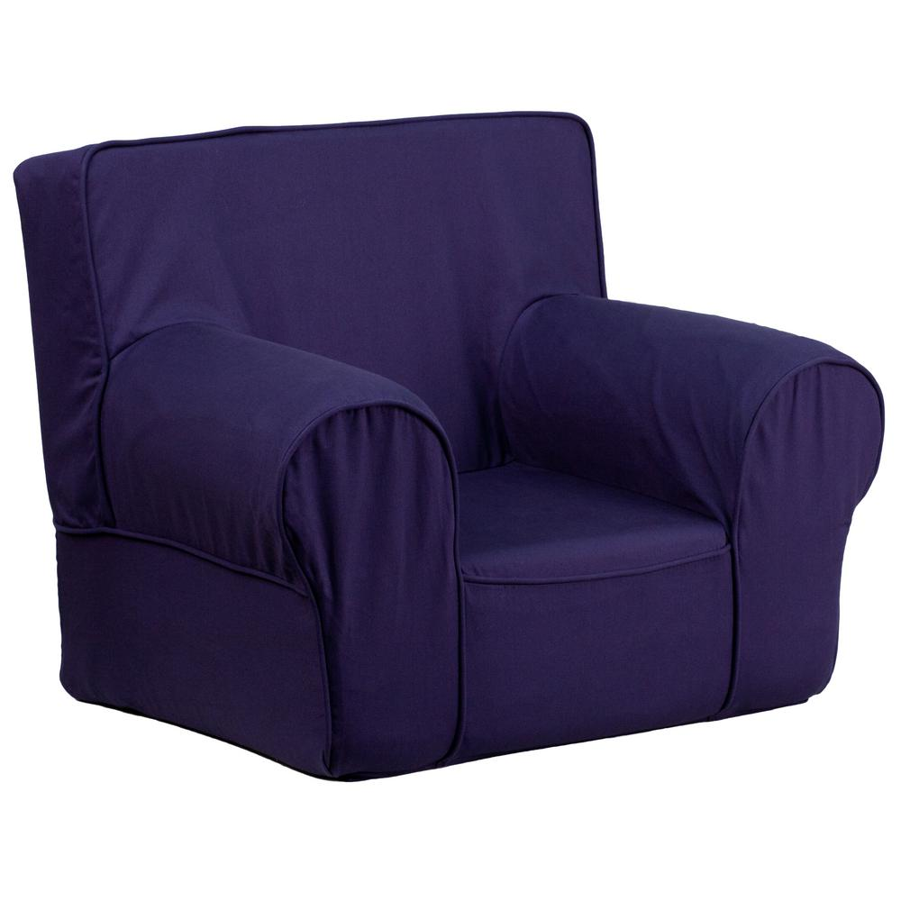 Incroyable Flash Furniture Small Solid Navy Blue Kids Chair