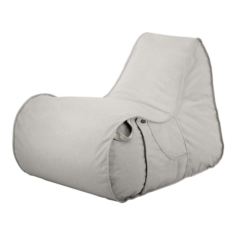 Montlake Heather Grey Outdoor Frameless Furniture Chair