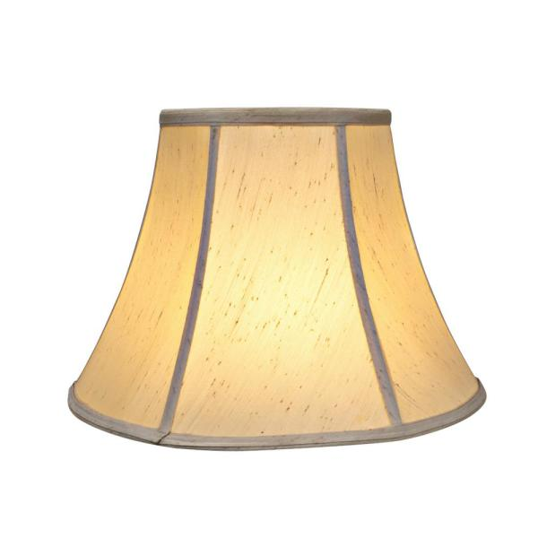 13 In X 9 5 In Ivory Bell Lamp Shade 30016 The Home Depot