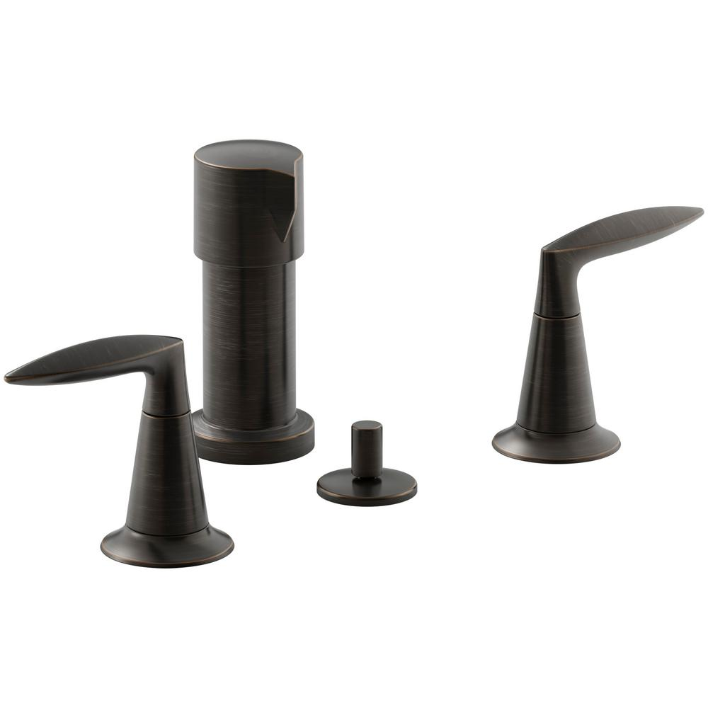 Alteo 2-Handle Bidet Faucet in Oil-Rubbed Bronze