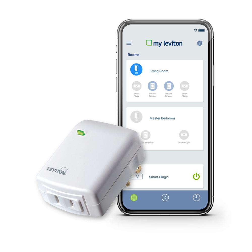 36e272ca95 Leviton Decora Smart Wi-Fi Plug-In Dimmer, No Hub Required, Works with  Alexa, Google Assistant and Nest