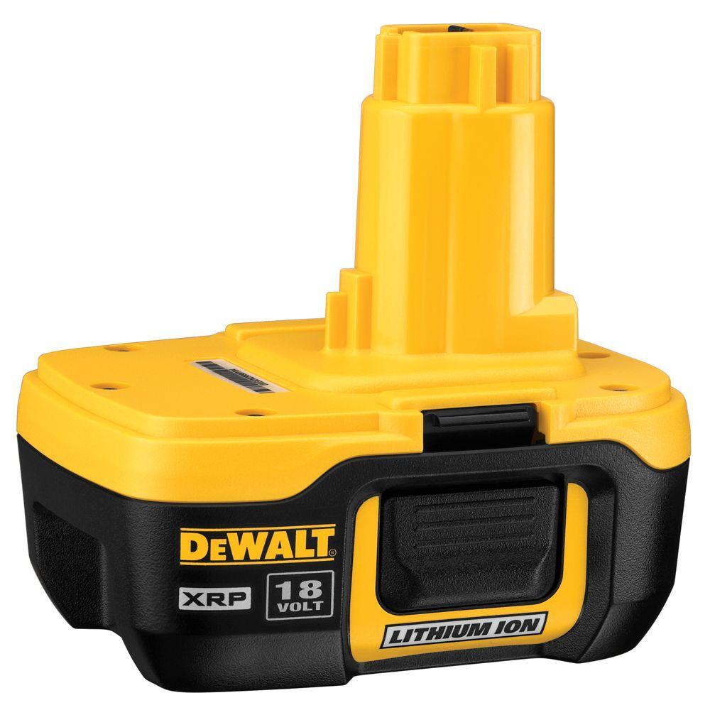 DEWALT 20-Volt MAX Lithium-Ion Battery Adapter for 18-Volt Tools ...