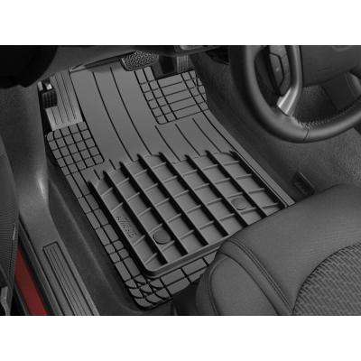 Black 27 in. x 19 in. Heavy Duty All Vehicle Mat