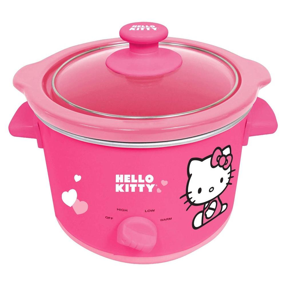 Hello Kitty 135-Watt Slow Cooker-DISCONTINUED