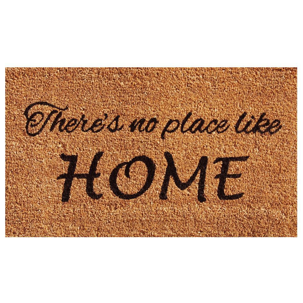 Home U0026 More No Place Like Home 24 In. X 36 In. Door Mat