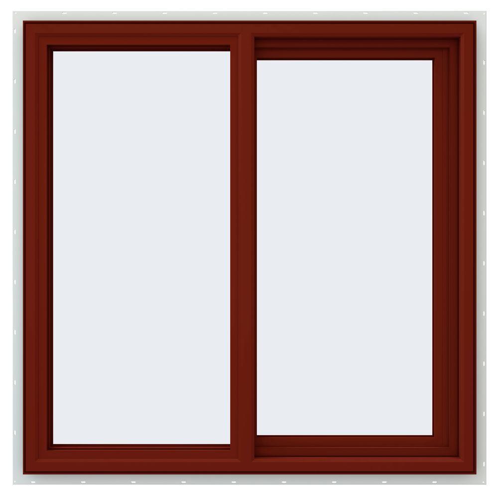 35.5 in. x 35.5 in. V-4500 Series Right-Hand Sliding Vinyl Window