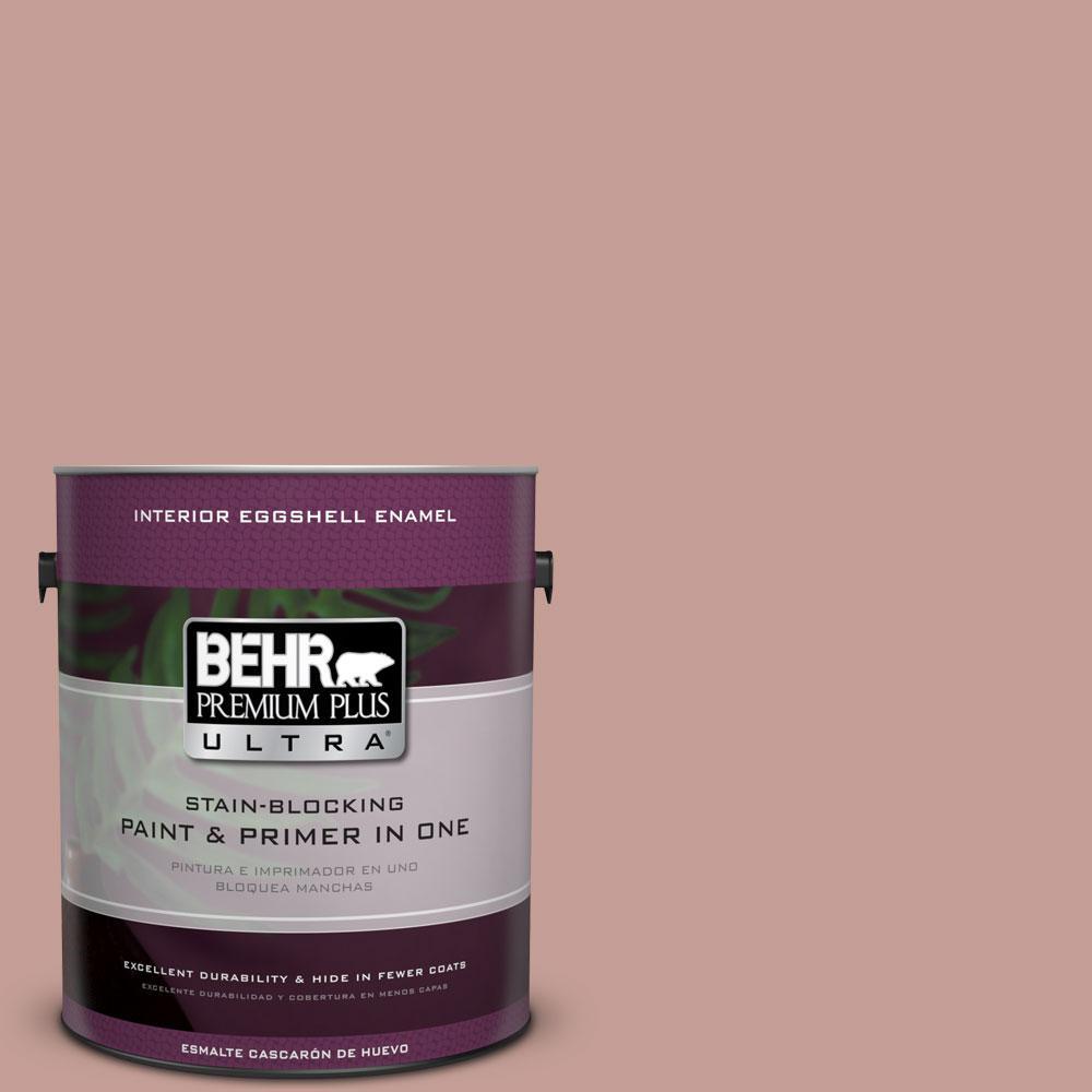 BEHR Premium Plus Ultra 1 Gal S170 4 Retro Pink Eggshell Enamel