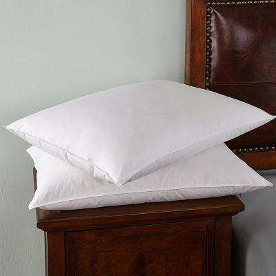 Firm White King Goose Down and Feather Pillows (Set of 2)