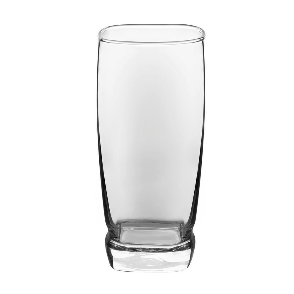 Carrington 16-Piece Clear Glass Drinkware Set