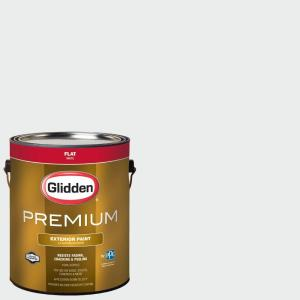 Click here to buy Glidden Premium 1-gal. #HDGCN29U Crystal Clear White Flat Latex Exterior Paint by Glidden Premium.