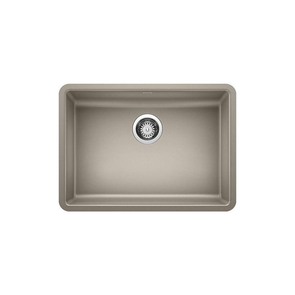 Blanco Precis Undermount Granite 25 In X 18 In Single