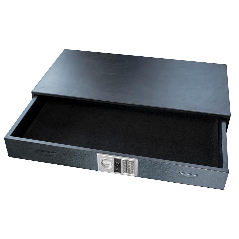 BUFFALO 3 cu. ft. 14-Gauge Steel Under Bed Gun Safe with Digital Keypad, Black was $399.0 now $249.0 (38.0% off)