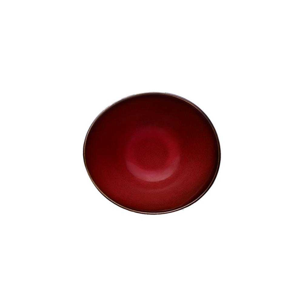 Crimson Porcelain Soup Bowls 8 oz. (Set of 48)