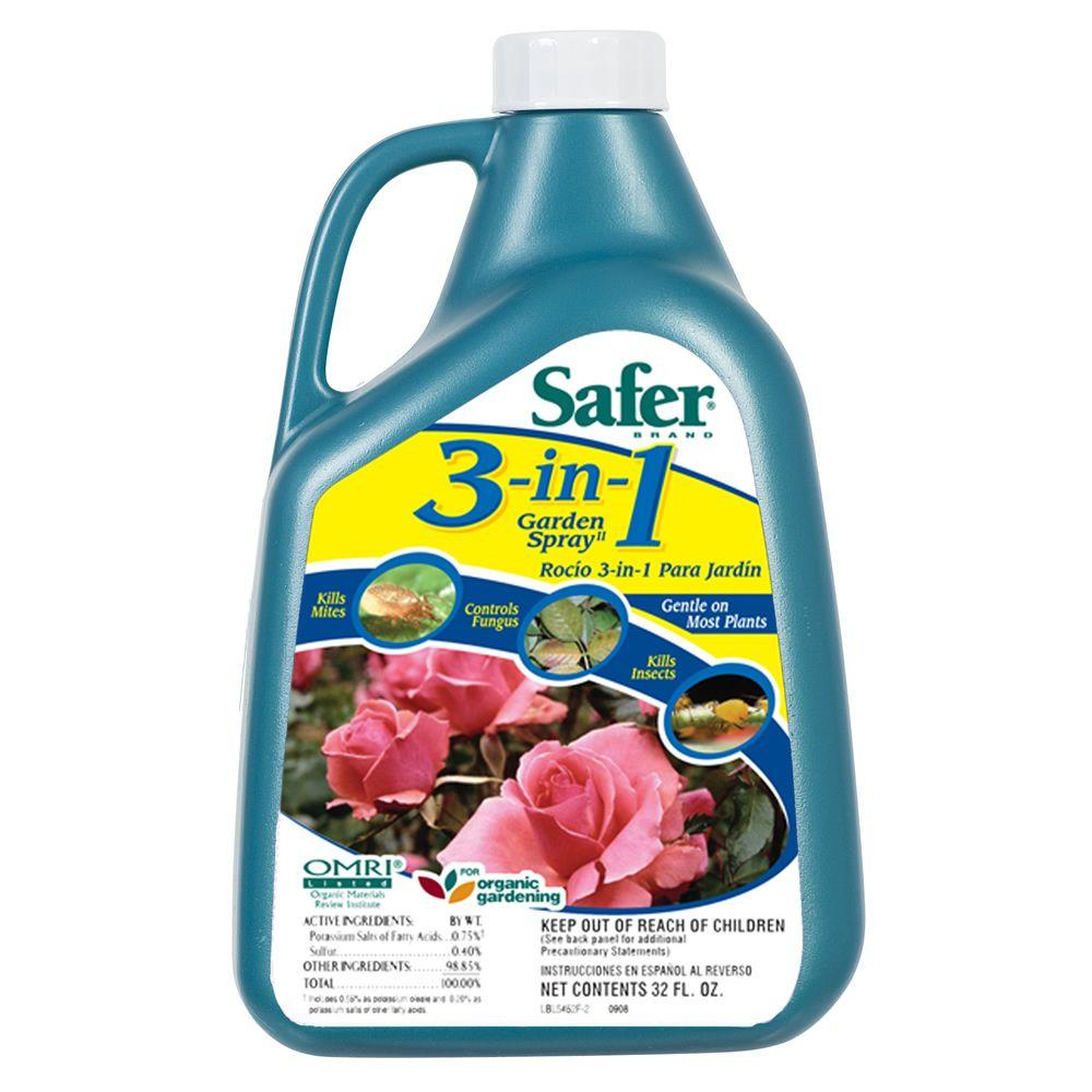 Safer Brand 3-in-1 Garden Spray Concentrate-DISCONTINUED