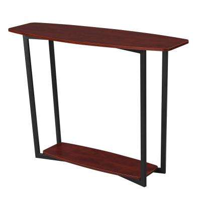 Graystone Cherry and Black Console Table
