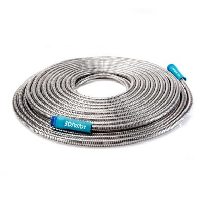 Indestructible 1/2 in. Dia x 75 ft. Heavy-Duty Stainless Steel Garden Hose