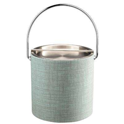 Muse Celestial 3 Qt. Ice Bucket with Metal Handlebar Lid, Bale Handle
