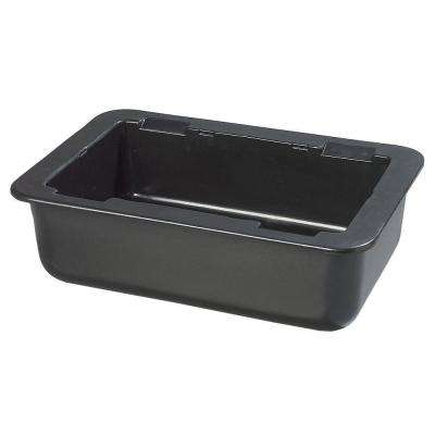 6 in. Deep Full Size Cold Pan in Black