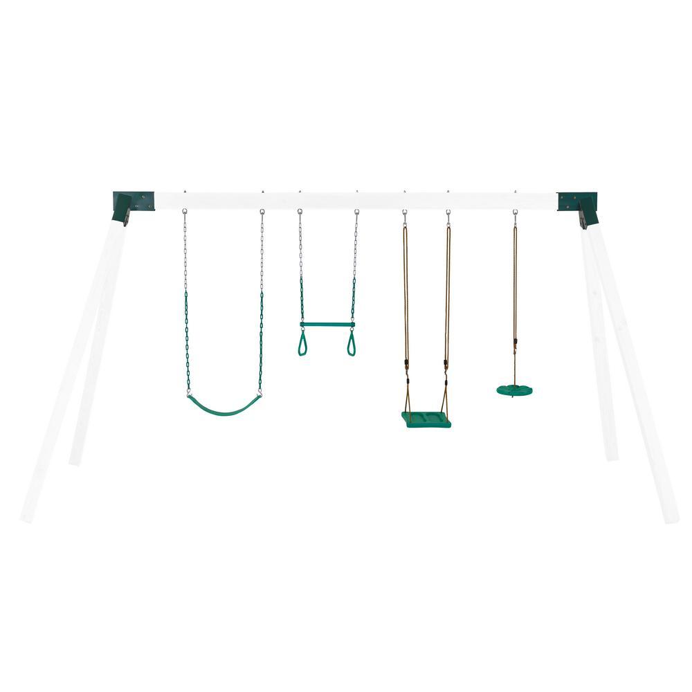 trapeze Swing Kit,belt swing playground accessories,play set,grnzp+ Swingset