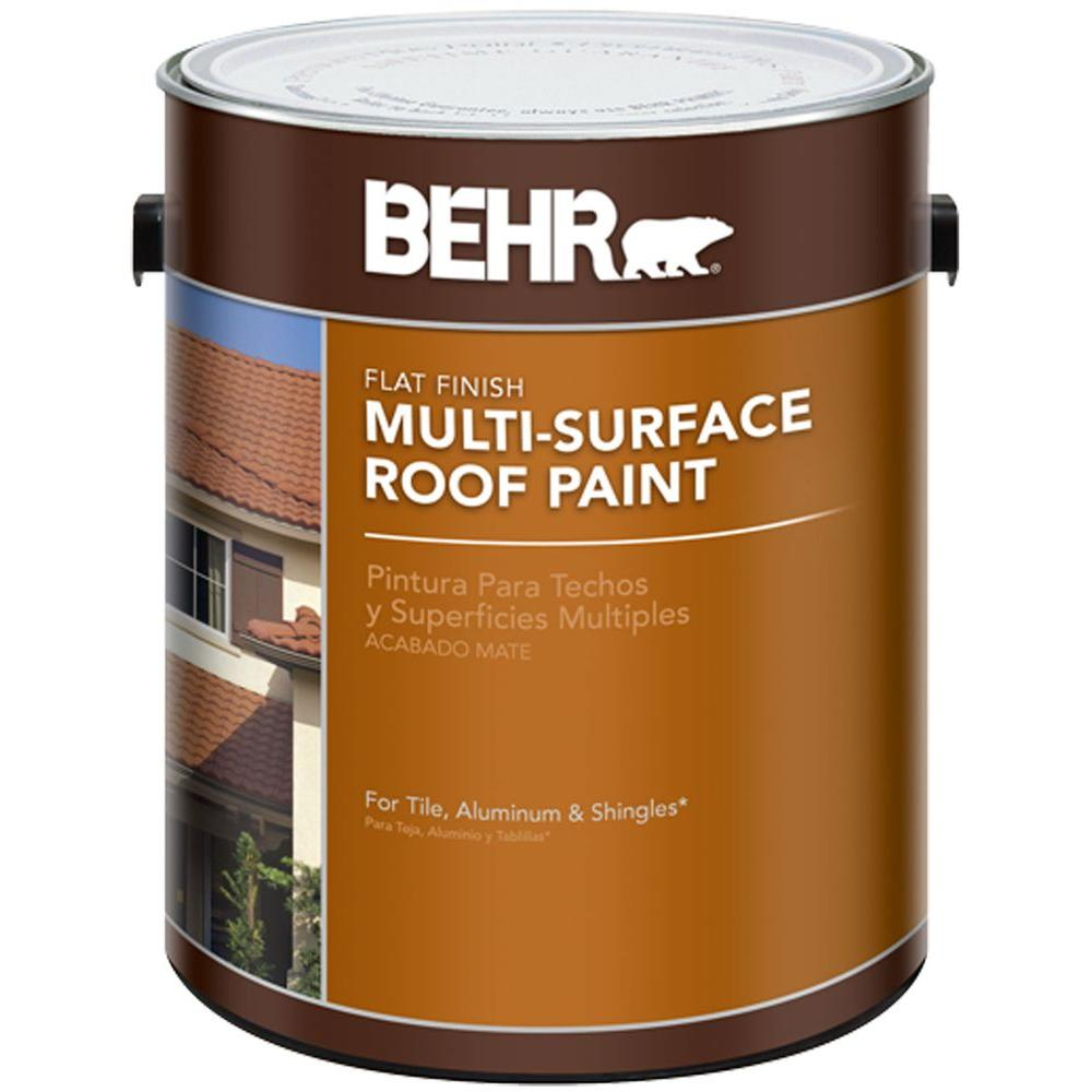 BEHR 1 gal. Deep Base Multi-Surface Roof Paint