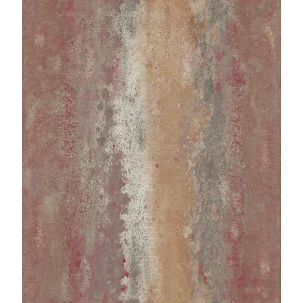 RoomMates 28.18 sq. ft. Oxidized Metal Peel and Stick Wallpaper RMK11378WP