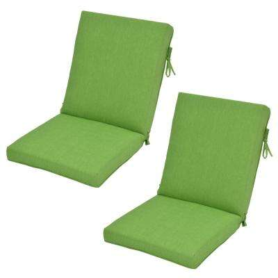 Fern Outdoor Dining Chair Cushion (2-Pack)
