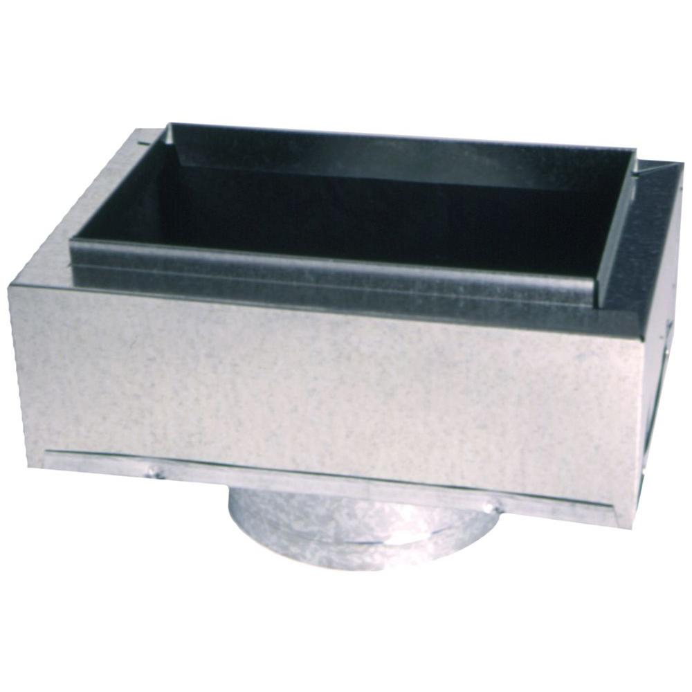 Master Flow 10 In X 6 In To 6 In Insulated Register Box